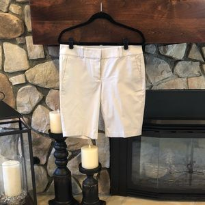 Ann Taylor Boardwalk Shorts - Cream